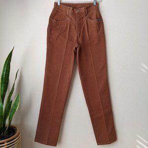 Vintage • Rockies High Waisted Jeans Brown 26
